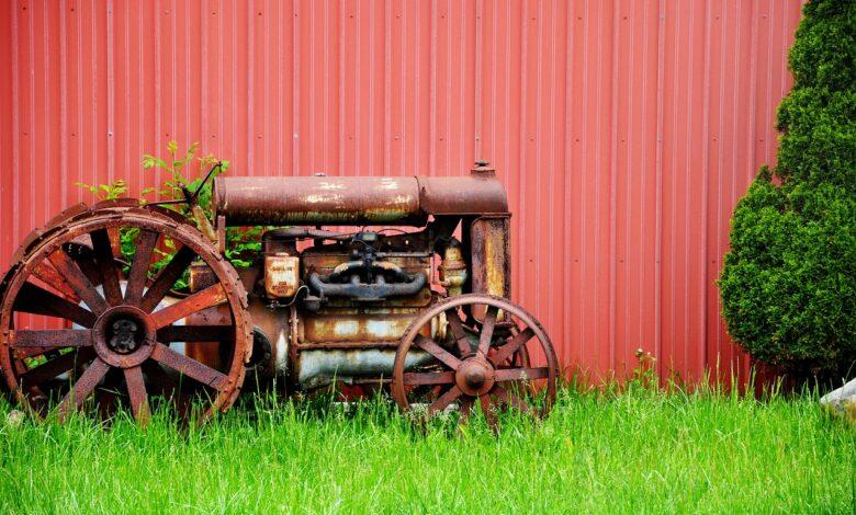 retro ciągniki